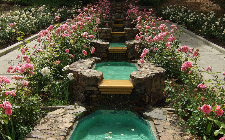 تویه خونه آپارتمانی garden rose ideas with pond 1654 hostelgarden.net