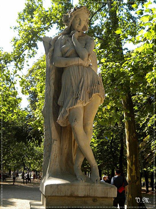 PAUL VERLAINE ÜÇ YIL SONRA Le Jardin du Luxembourg Velleda (