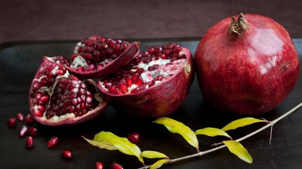 Winter pomegranates